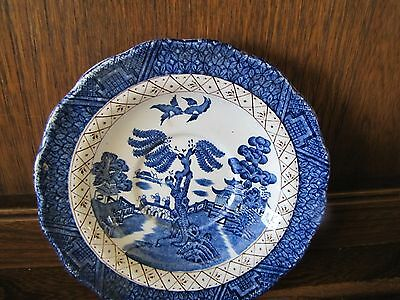 Vintage Booths~Real Old Willow~1X14.7cms Tea Saucer Reg no.A8025