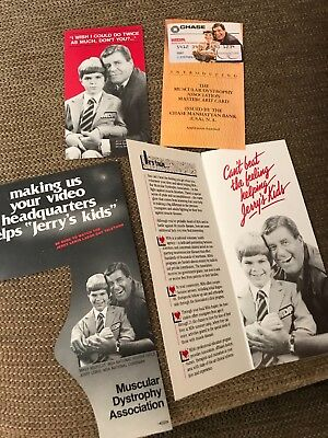 JERRY LEWIS MDA Telethon Corporate ad's CHASE Bank