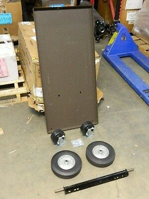 "Kennedy Versa-Cart Platform 1000 lb. Capacity 43"" x 20"" x 3"" Steel Brown 430B"