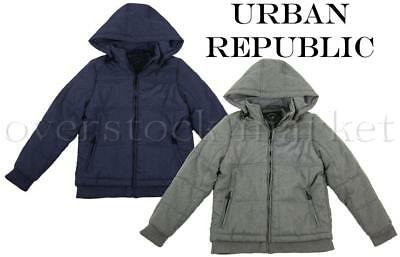 ff142354b47 NEW BOYS URBAN Republic Hooded Mid-Weight Jacket Coat! Variety ...