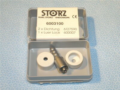 STORZ 600007 Luer connector & Two 6127590 seals