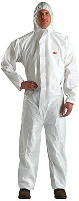 3M 49790 Disposable Protective Coverall Safety Work Wear 4510-BLK-XL