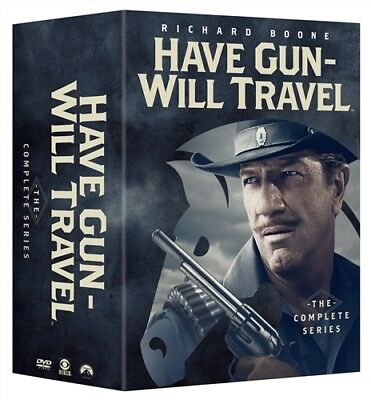 HAVE GUN WILL TRAVEL COMPLETE SERIES New 35 DVD Seasons 1-6 Season 1 2 3 4 5 6