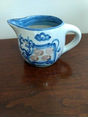 M.A. Hadley Pottery Baby Small Cow Pitcher
