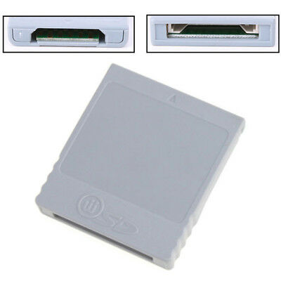 SD Memory Card Reader Converter Adapter For Nintendo Wii GameCube NGC Console