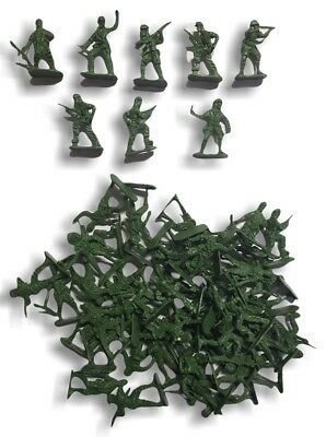 """ARMY MEN / TOY SOLDIERS"" 60 Piece Pack"