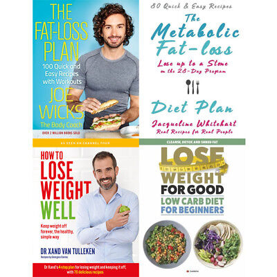 Lose Weight For Good: Low Carb Diet,Metabolic Fat-loss Plan 4 Books Collection