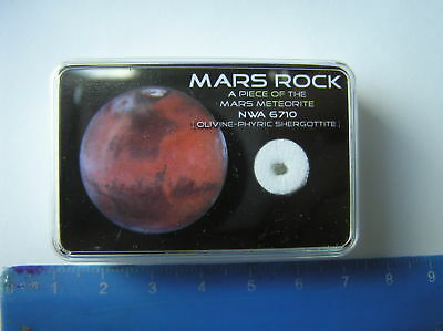 Boxed Mars  Meteorite Set - A Real Piece Of Mars - Nwa 6710