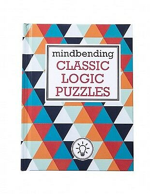 Lagoon Mind Bending Classic Logic Puzzles Fun Logical Thinking Challenge Book