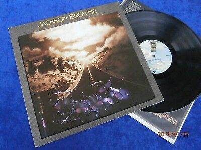 "LP JACKSON BROWNE "" RUNNING ON EMPTY "" WEA ASYLUM Records 1977"