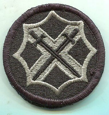 US Army 142nd Battlefield Surveillance ACU Patch