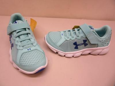 Youth Under Armour GPS Assert 6 AC SMS Sample Shoes - Size 1 Blue Sneaker