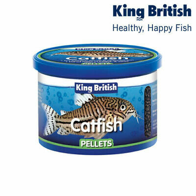 King British Catfish Pellets Bottom Feeder Aquarium Tropical Food 65/200/600g