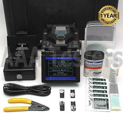 Fujikura FSM-17R SM MM Fiber Ribbon Fusion Splicer With USF-21C Cleaver FSM17R