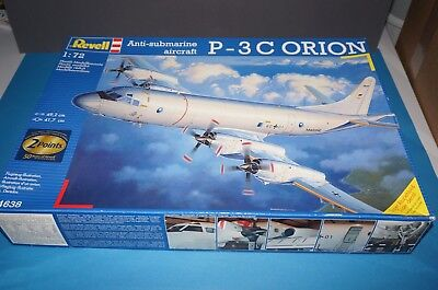 [RF18] Revell 04638 1:72 Anti-Submarine aircraft P-3C ORION Bausatz / OVP