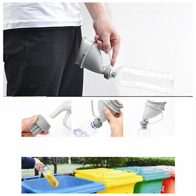 Portable Male Female Potty Pee Funnel Urinal Device For Car Travel Outdoor Camp