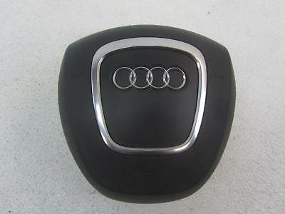 06-07 AUDI AUDI A8 Black L Left Driver Side Airbag Air Bag 4 Spoke Wheel