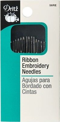 Ribbon Embroidery Needles - Every Size You Need to Make Ribbon Embroidery Easy