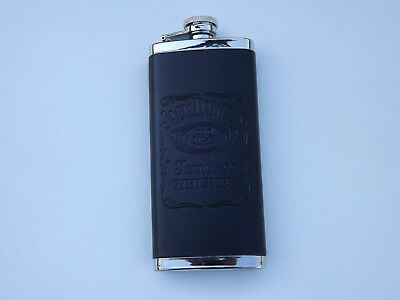 Jack Daniel's 5oz Leather Tall Flask