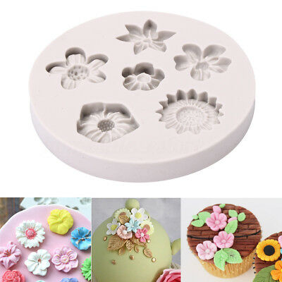 Flower Lace Silicone Fondant Mold Cake Border Decoration Sugar Icing Mould Tool
