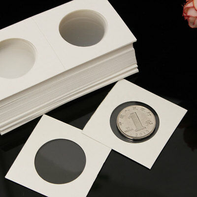 50Pcs Assorted Stamp Coin Holders Cardboard Storage Paper Case YOU CHOOSE SIZES!