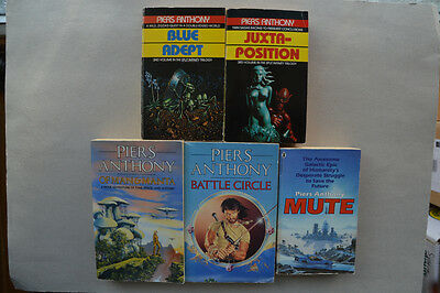 Job-Lot Of Piers Anthony Books (5)