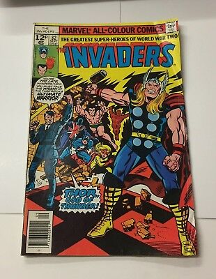 The Invaders #32 September 1978 Bagged Marvel Comic
