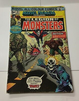 Marvel Premiere ft The Legion of Monsters #28 February 1976 Bagged Marvel Comic
