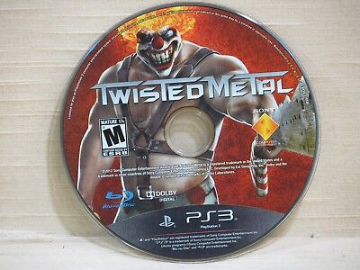 Twisted Metal (1996) (Sony PlayStation 3, 2012),DISC ONLY,PS3