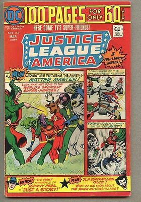 Justice League Of America #116-1975 fn+ 100 page Giant Dick Dillin