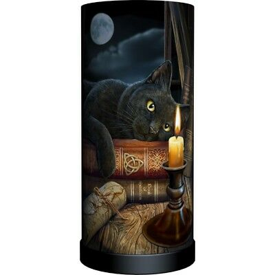 WITCHING HOUR Electric Lamp Lisa Parker cat wicca pagan witch witchcraft