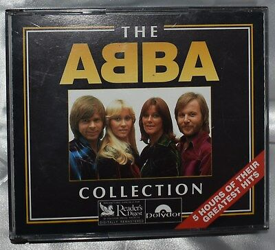 Rare Vintage Redaers Digest Abba Complete 4 Compact Disc Set W/ Original Booklet