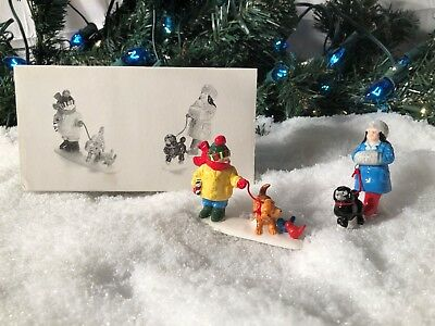 New Department 56 Snow Village Series Pets On Parade #5472-0 Accessory