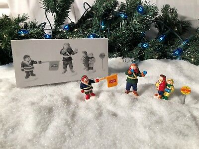 New Department 56 Snow Village Series Safety Patrol #5449-6 Accessory