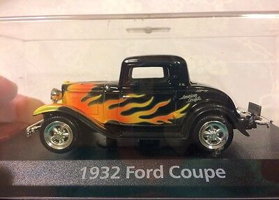 """Motor Max Moments In Time American Graffiti 1932 Ford Coupe 1:43, 4""""l"""