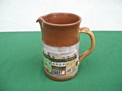 """Left Handed Russell Henry   """"buildings & Trees  """"  Pitcher  1996"""