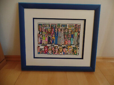orig. 3D Friends-And-Fans-Of-James-Rizzi. gerahmt, signiert, nummerier, 2004