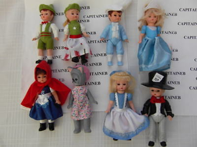 2010 Madame Alexander Complete Set Lot 8 Dolls Mcdonalds