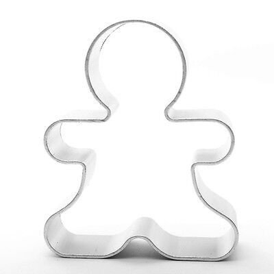 Person Ginger Bread Man Cookie Cutter Baking Cake Decorating Pastry Kitchen