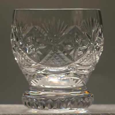 Webb Corbett Crystal Prince Regent Vintage 10 oz Whisky Tumbler Glass more avail