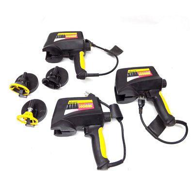 (Lot of 3) Wagner 0500101 2200 PSI Home Power Painter Spray Guns w/ Nozzles