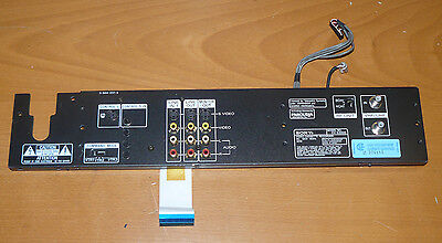 Working rear panel assembly for Sony EV-S3000 Hi8 VCR - 3-944-237-3 1-640-976-13