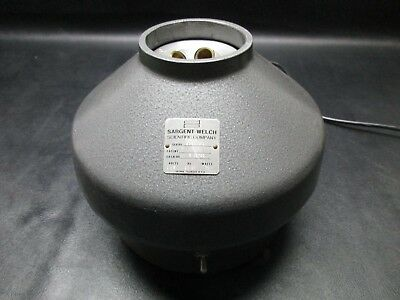SARGENT-WELCH CAT. No. S-15700 Centrifuge w/ Tubes