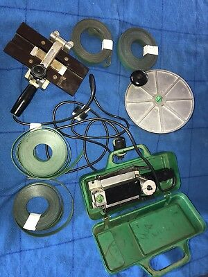 Habasit Belt Gluing Making Tools Presses w SKIVER DISC + ROLLS of BELT P100.