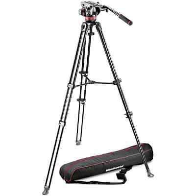 Manfrotto MVH502A Fluid Head and MVT502AM Tripod with Carrying Bag (MV