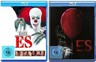 Stephen Kings Es Blu-ray Set Original + Neuverfilmung NEU OVP Stephen King's Es