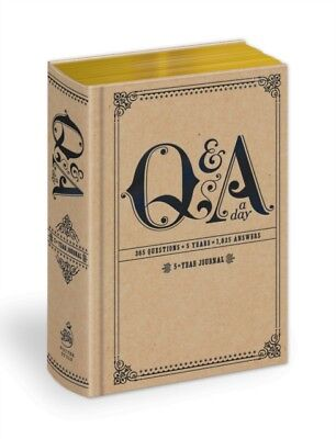 Q and A a Day: 5-Year Journal (Diary), Potter Style, 9780307719775
