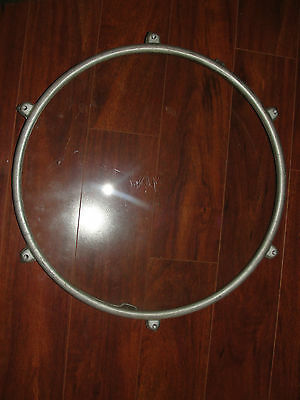 Old maritime authentic ship porthole from Michigan, Benjamin, USA, nautical