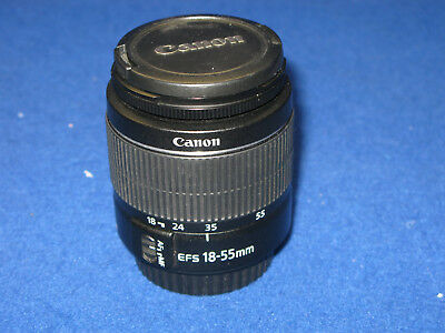 Canon EF-S 18-55mm III F3.5-5.6 AF Zoom Lens 4 EOS DSLRs  FREE UK SHIPPING(3914)
