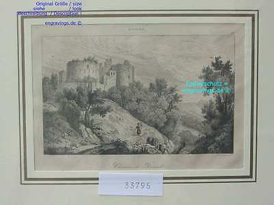 33795-Schweiz-Swiss-Switzerland-DORNECK-Stahlstich-Steel engraving-1838